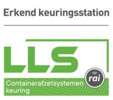 Erkend keuringstation containerafzetsystemene